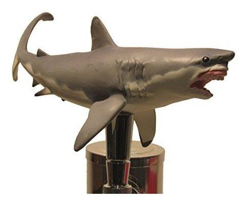 Imagen 1 de 2 de Gran Tiburon Blanco Tiburon Mango De Llave De Cerveza Barr