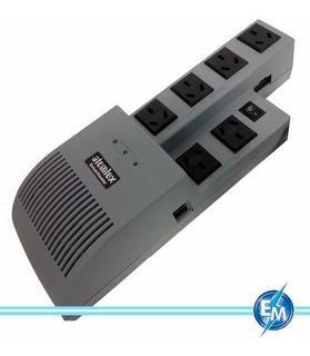 Estabilizador Atomlux R500@ 6 Salidas 500 Filtro 220v