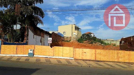 Terreno Para Alugar, 1000 M² Por R$ 3.700,00/mês - Matadouro - Bragança Paulista/sp - Te0954
