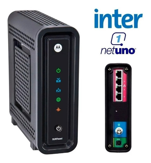Modem Cable Router Wifi Motorola Sbg6580 (intercable)