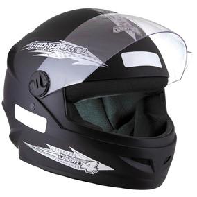 Capacete De Moto Masculino New Four 4 Preto Fosco Promoção