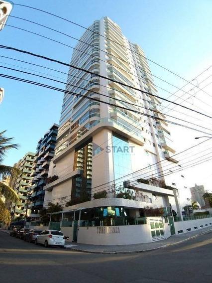 Apartamento Com 3 Dormitórios À Venda, 156 M² Por R$ 750.000 - Canto Do Forte - Praia Grande/sp - Ap6925