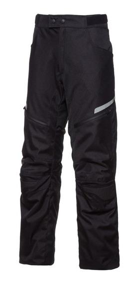 Pantalon Moto Hombre Cordura Nine To One Fuse Negro