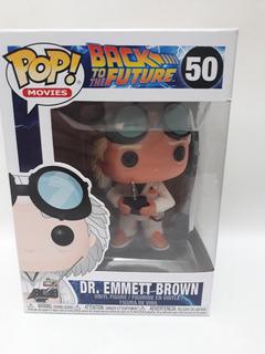 Funko Pop Back To The Future Dr. Emmet Brown 50 Original