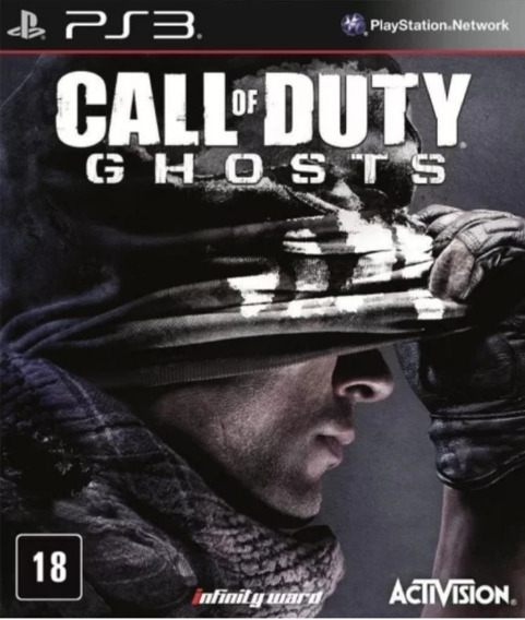 Call Of Duty Ghosts Ps3 Midía Fisica Novo Lacrado