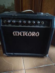 Caixa Cubo Guitarra Meteoro Mg15 15watts Potencia