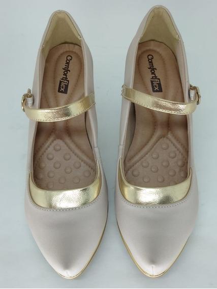 Sapato Comfortflex 1785402 Avelã