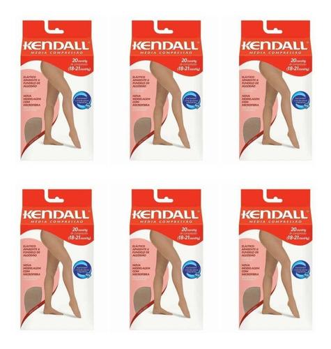 Imagem 1 de 1 de Kendall 1633 Meia Calça Média Compressão Mel G (kit C/06)