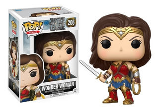 Funko Pop Mujer Maravilla #206 Justice League Dc Regalosleon