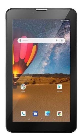 Tablet Multilaser M7 3g Plus 16gb Wi-fi Bluthoo 1 Ram Preto