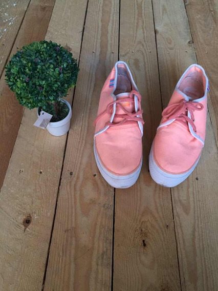 Spc 47 Zapatillas Topper Naranja Fluor