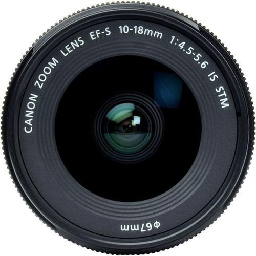 Lente Canon 10-18mm F4.4-5.6 Is Stm