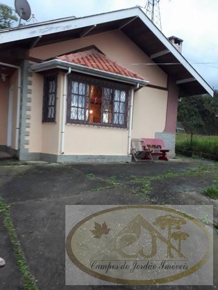 Casa Para Venda Em Campos Do Jordão, Nova Suiça, 2 Dormitórios, 1 Suíte, 1 Banheiro - 189
