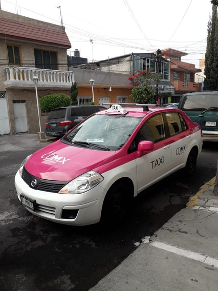 Taxi Listo Para Trabajar, Nissan Tiida Sense, Firmo Semovi