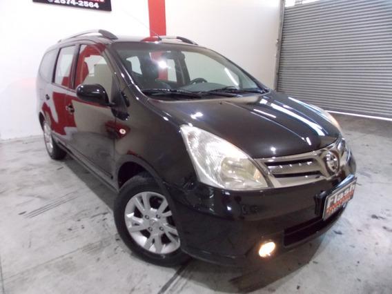 Nissan Grand Livina 1.8 Sl Flex Automatico Com Couro (top