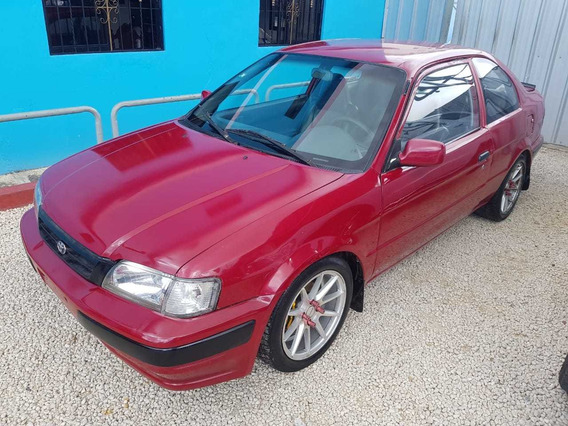 Toyota Tercel 1995 Rojo