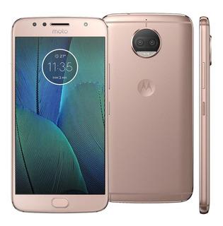 Smartphone Motorola Moto G5s Plus Xt1802 Ouro Rose Vitrine