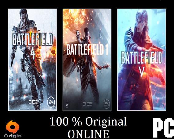 Battlefield ( 1 , 4 , 5) Pt-br ( Atualizado Online ) Pc
