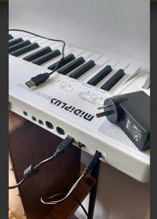 Midiplus Easy PianoTeclado 49 Teclas 128 Sonidos