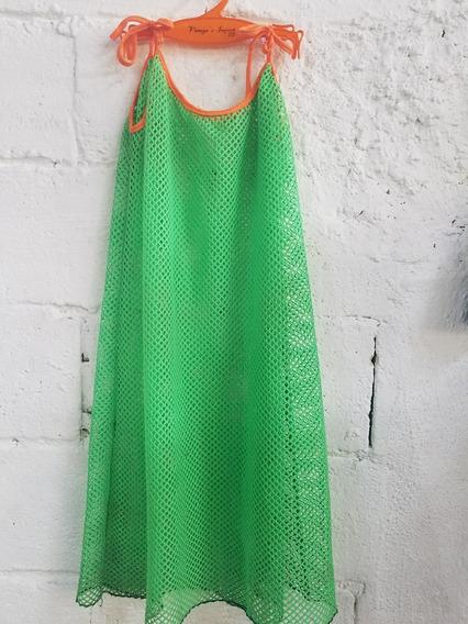 Vestidos Playeros / Batas De Mallas