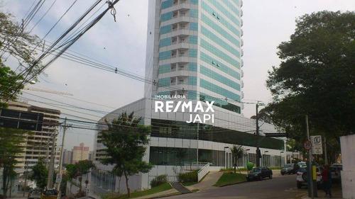 Imagem 1 de 12 de Sala Comercial Para Locação - Jundiaí - Condomínio Golden Office - 74m² A.t.  35m² A.c. - R$: 2.140 + Condomínio R$: 580,00 - Sa0160