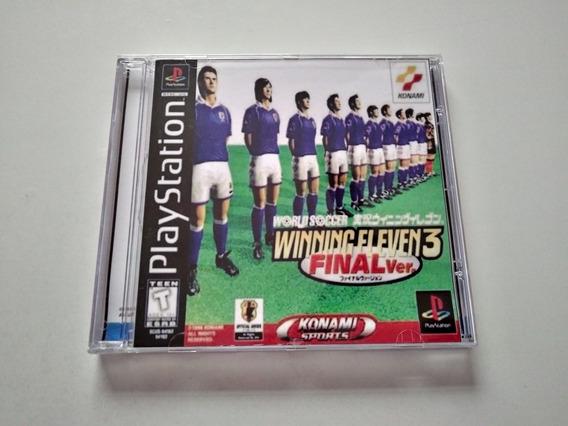Winning Eleven 3 Final Version - Psone Patch
