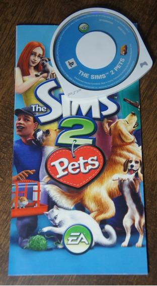 Jogo The Sims 2: Pets - Psp Umd Original