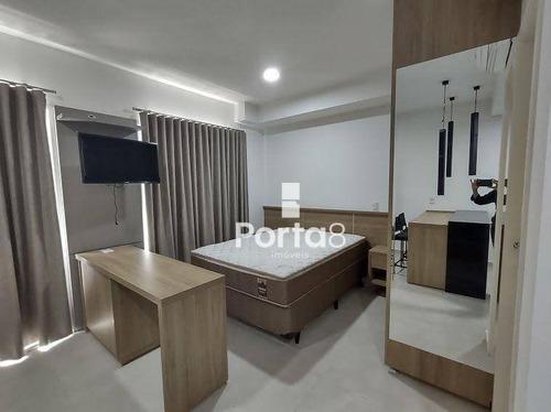 Imagem 1 de 18 de Apartamento Para Alugar, 34 M² Por R$ 1.700,00/mês - Jardim Tarraf Ii - São José Do Rio Preto/sp - Ap7974