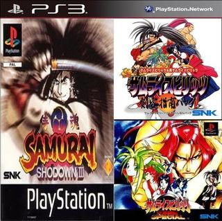 Samurai Shodown 1+2+3+4 Especial Ps3 Digital 4en1 (no Disco)
