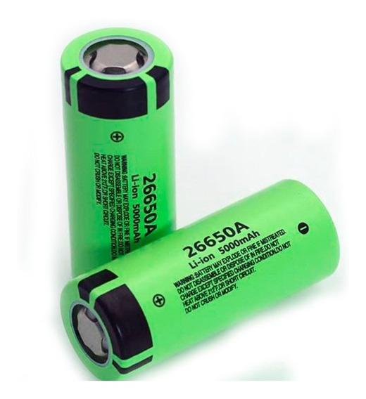 Bateria 26650 3,7v 5000 Mah Lanterna Recarregável (original)