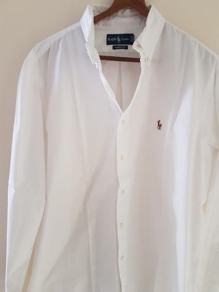 Camisa Blanca Ralph Lauren Nueva