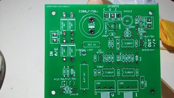 Fonte Regulada Volt E Amper 0a30v/(2)placas Pcb Para Montar