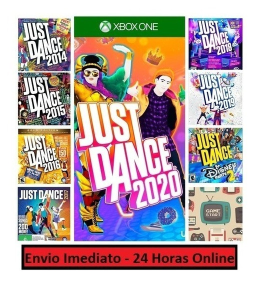 Just Dance 14 15 16 17 18 19 20 - Xbox One Midia Digital