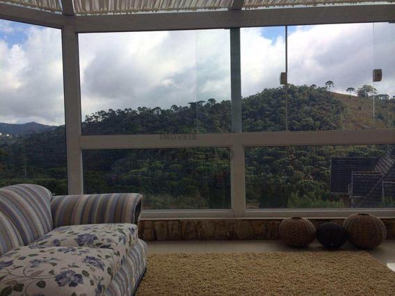 Casa De Condomínio Com 4 Dorms, Abernessia, Campos Do Jordão, 300m² - Codigo: 3206 - A3206