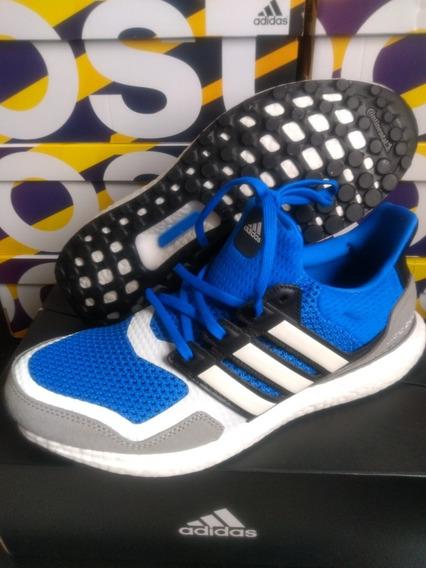 adidas Ultraboost S&l Azul/cinza Tam 41 Original Na Caixa!