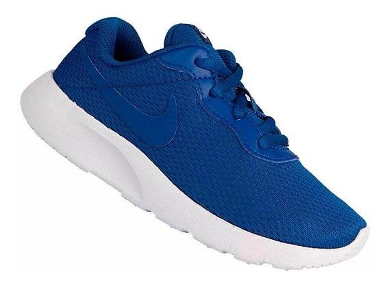 Tênis Nike Infantil Tanjun Ps Azul Menino 818382402