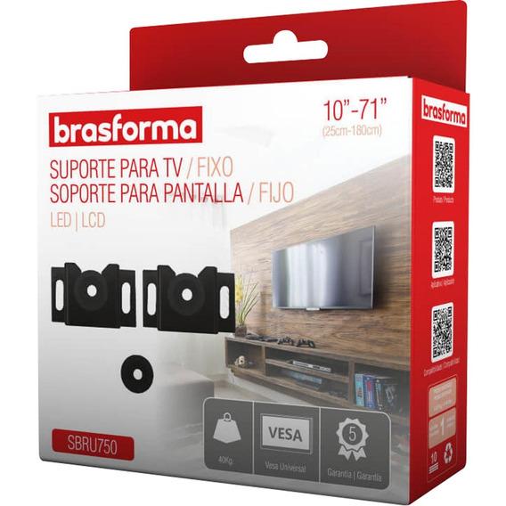 Sup Brasforma | Tv Sbru750 Fixo 10-71 Pt