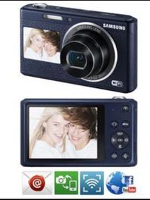 Câmera Samsung Smart 16.2mp Com Lcd Traseiro E Frontal Wifi