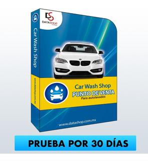 Software Punto De Venta Autolavado Car Wash (prueba Por 30 Días) Auto Lavado