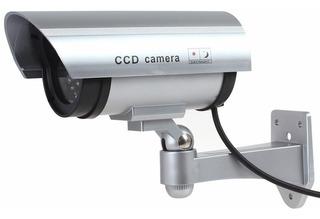 Camara De Seguridad Falsa Aspecto Super Realista C/ Luz Led®
