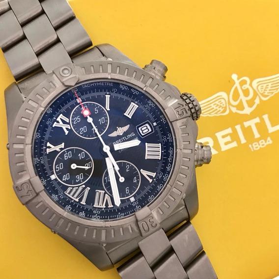 Breitling Chronomat Avenger Full Titanium 44mm Completo .