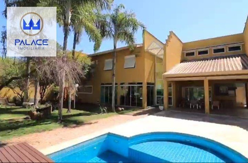 Imagem 1 de 18 de Casa Com 5 Dormitórios, 440 M² - Venda Por R$ 1.890.000 Ou Aluguel Por R$ 9.000/mês - Nova Piracicaba - Piracicaba/sp - Ca1026