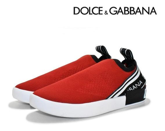 Tenis Masculino Dolce & Gabbana Lançamento+frete Gratis
