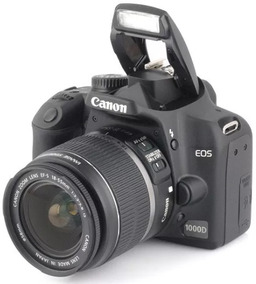 Câmera Profissional Canon Eos 1000d