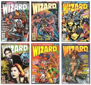 Wizard Brasil - Hq 1, 2, 3, 4, 5, 10 E 14