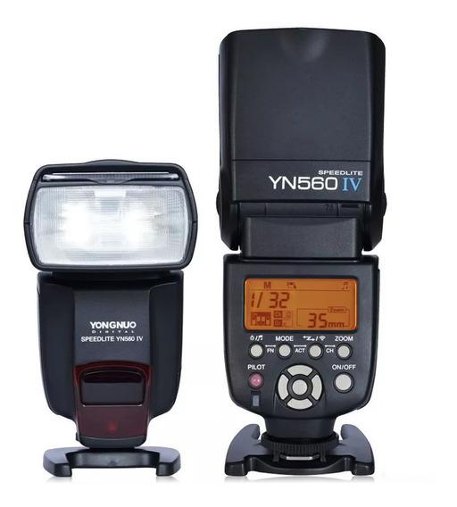 Flash Yn-560 Iv Yongnuo P/ Canon E Nikon Manual