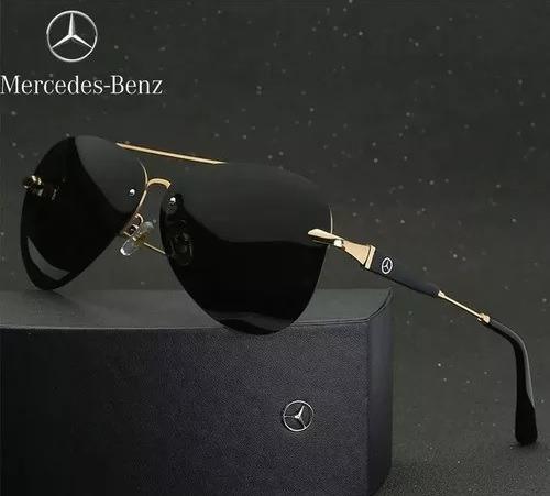 Óculo De Sol Mercedes-benz Lentes Polarizadas Uv400 Original