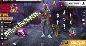 Jogo Freefire Ultra (con-ta) Lvl58