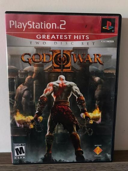 God Of War 2 - Playstation 2 - Original - Mídia Física!