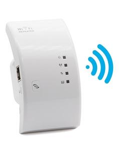 Repetidor Amplificador De Sinal Wifi 300mbps Botão Wps Rj 45